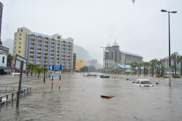 Deadly flash flooding event in Mauritius on 30th March 2013